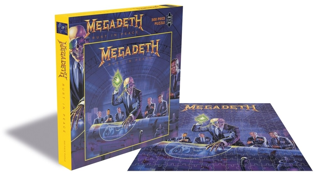- Megadeth Rust In Peace (500 Piece Jigsaw Puzzle)
