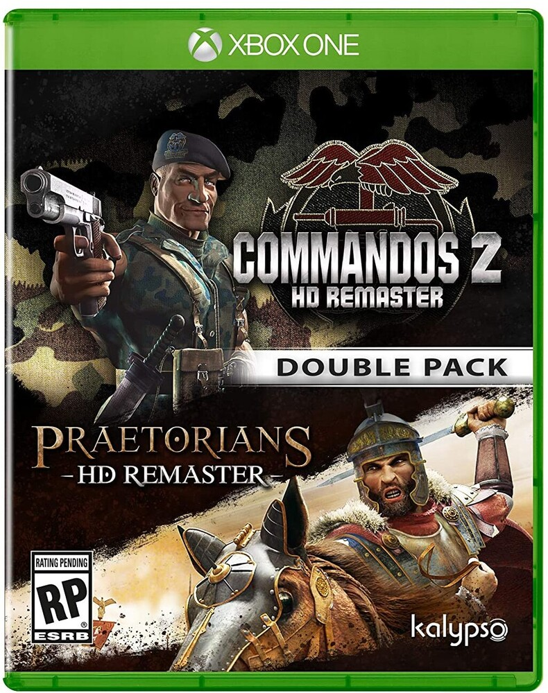 - Xb1 Commandos 2 & Praetorians: Hd Rmst Double Pack
