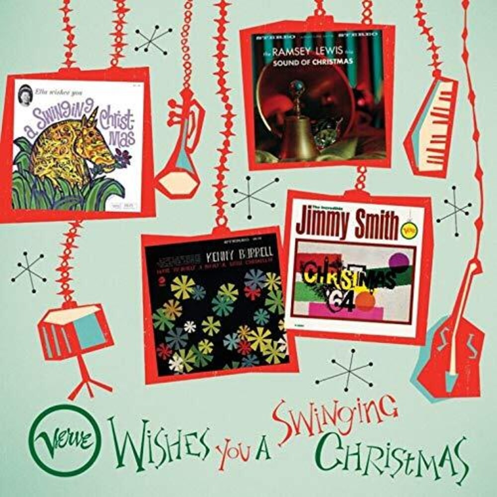 Various Artists - Verve Wishes You A Swinging Christmas [4LP Box Set]