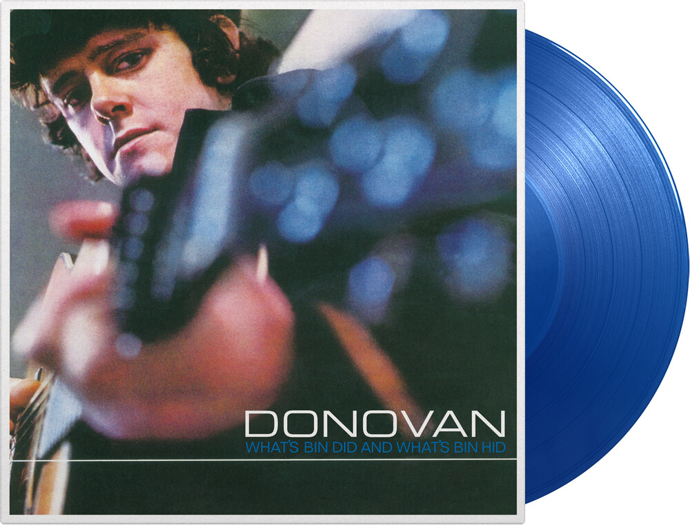 Donovan - What's Bin Did & What's Bin Hid (Blue) [Colored Vinyl]