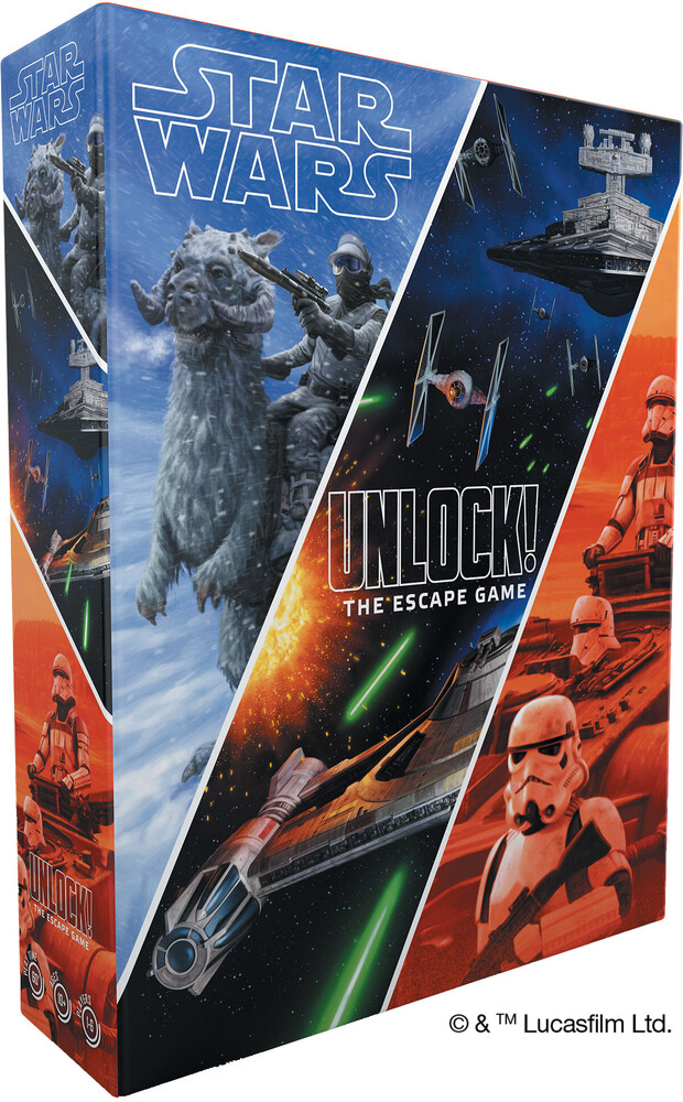 Star Wars: Unlock! the Escape Game - Star Wars: Unlock! The Escape Game