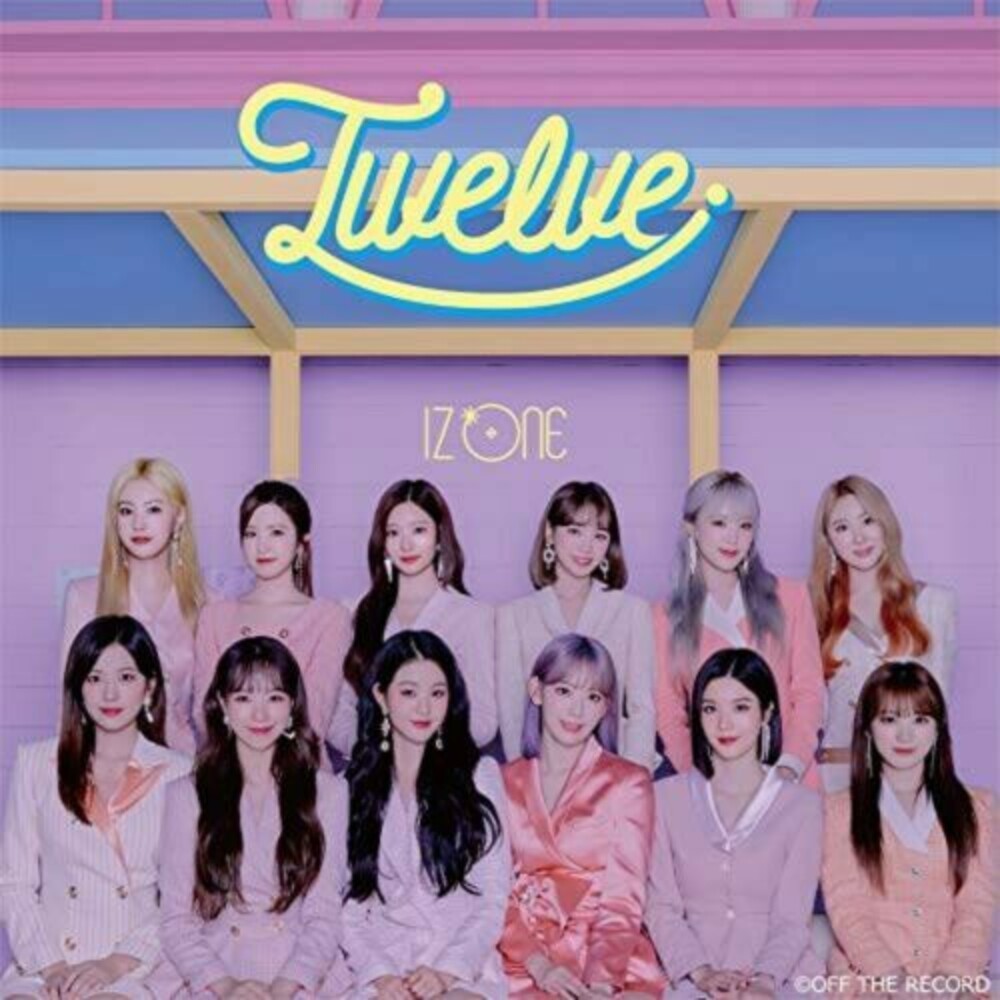 IzOne - Twelve (Version B) (Bonus Dvd) (Jpn)