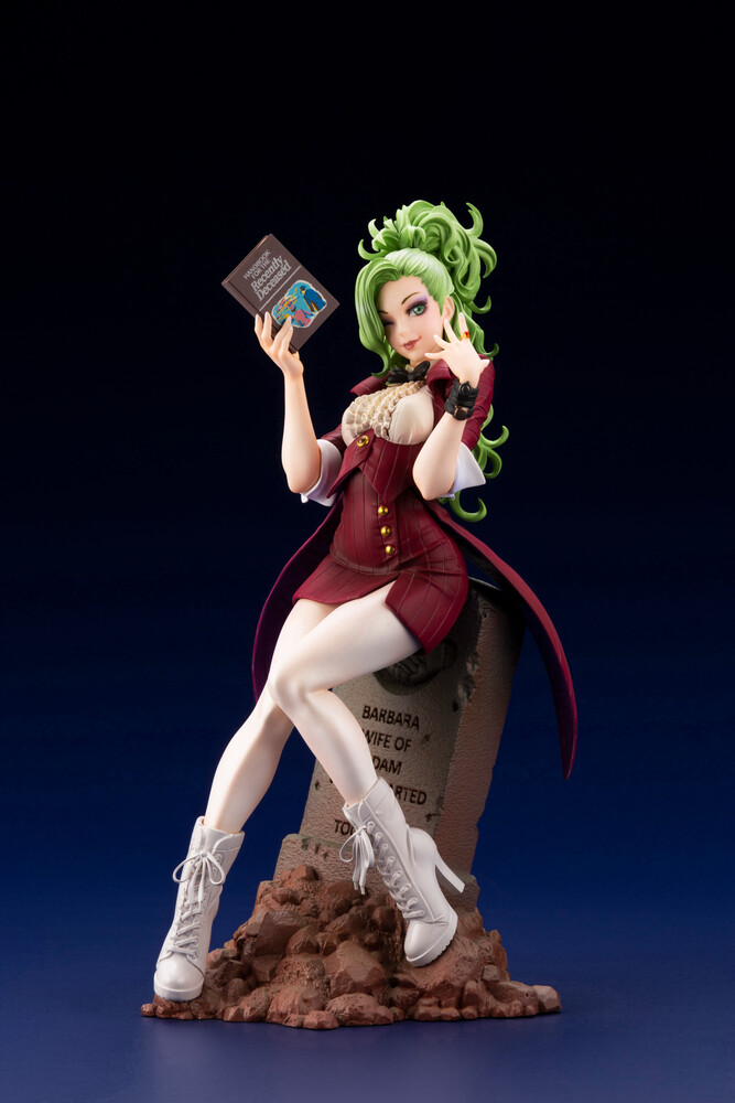 Beetlejuice - Red Tuxedo Ver Le Bishoujo Statue - Kotobukiya - Beetlejuice - Red Tuxedo Version Limited Edition SharedExclusive Bishoujo Statue