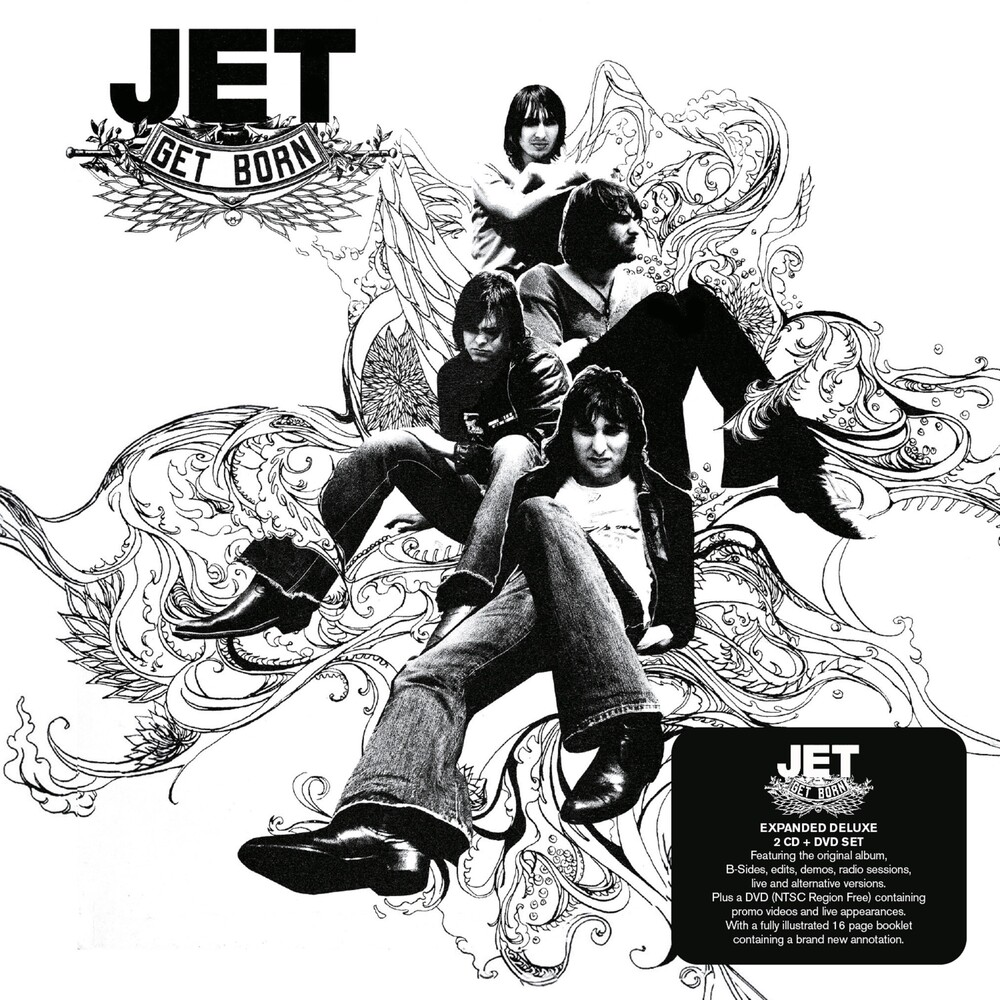 Jet - Get Born (W/Dvd) [Deluxe] (Exp) (Ntr0) (Uk)