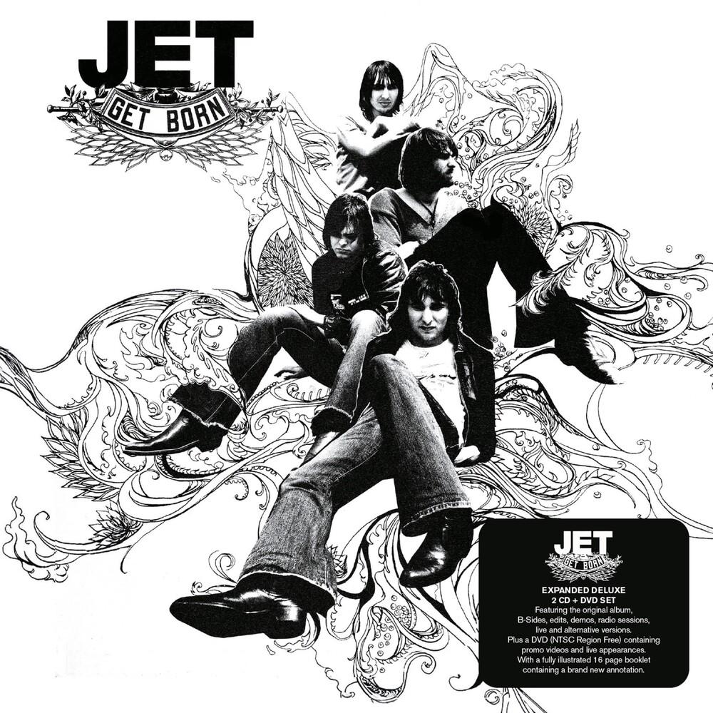 Jet - Get Born (W/Dvd) (Dlx) (Exp) (Ntr0) (Uk)