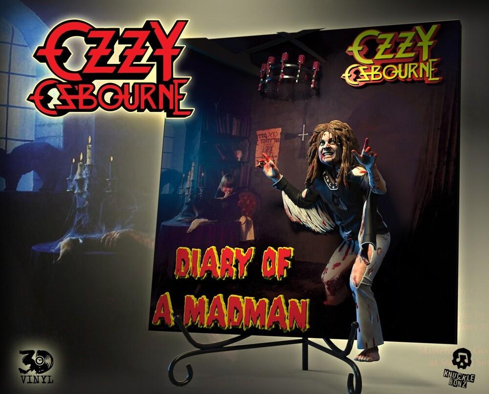 - Knucklebonz - Ozzy Osbourne 'Diary of a Madman' 3D Vinyl