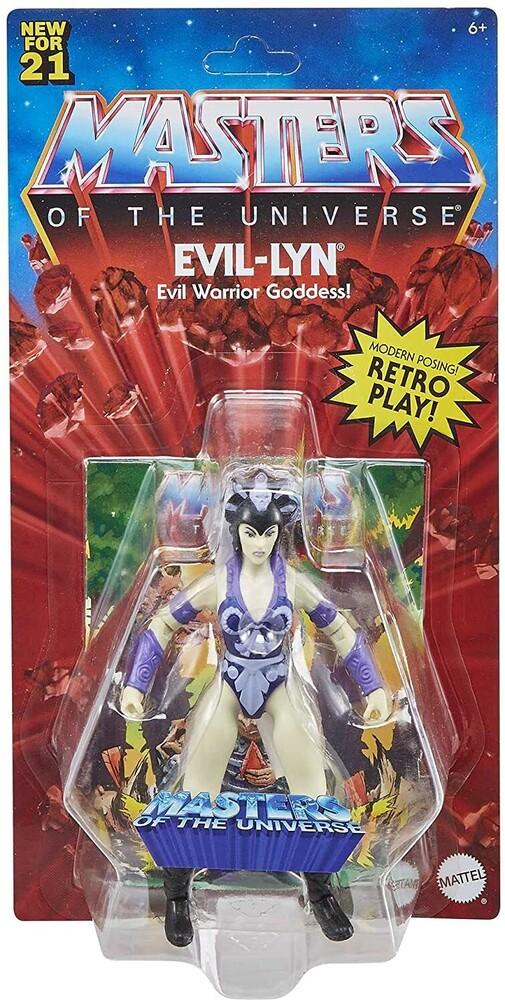 - Mattel Collectible - Masters of the Universe Origins Evil-Lyn 2 (He-Man, MOTU)