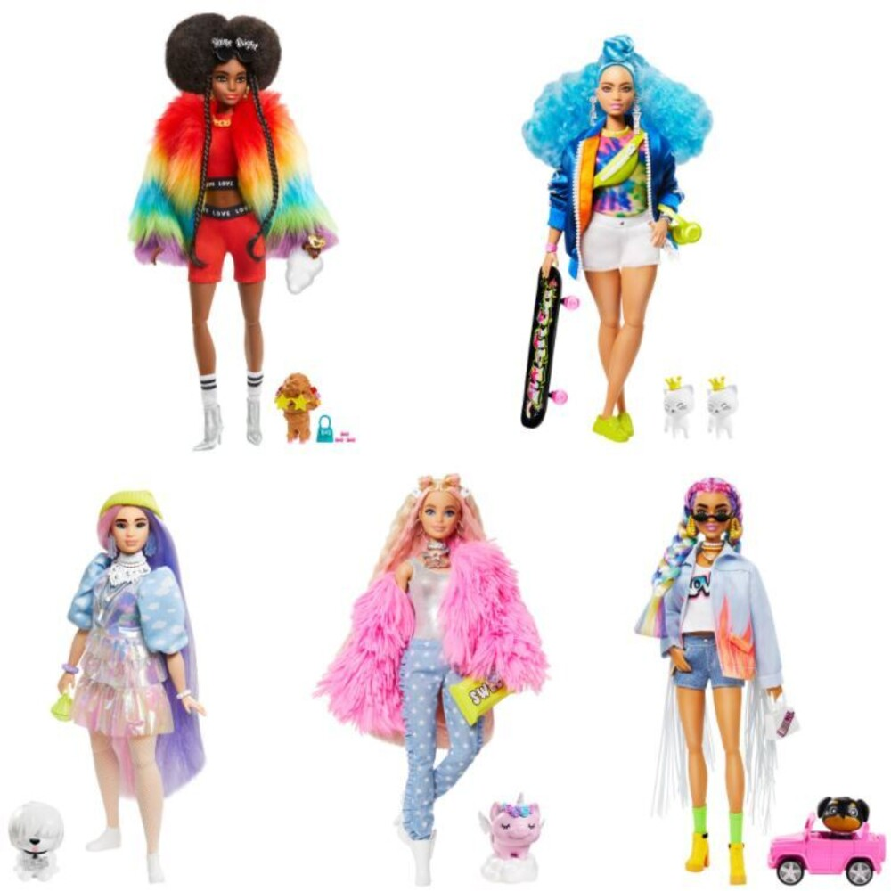 - Mattel - Barbie Extra Doll Assortment