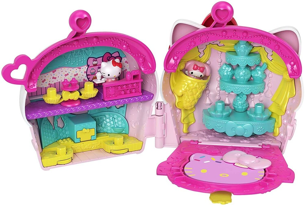 - Mattel - Hello Kitty and Friends Kitty Cupcake Bakery Compact (Sanrio)