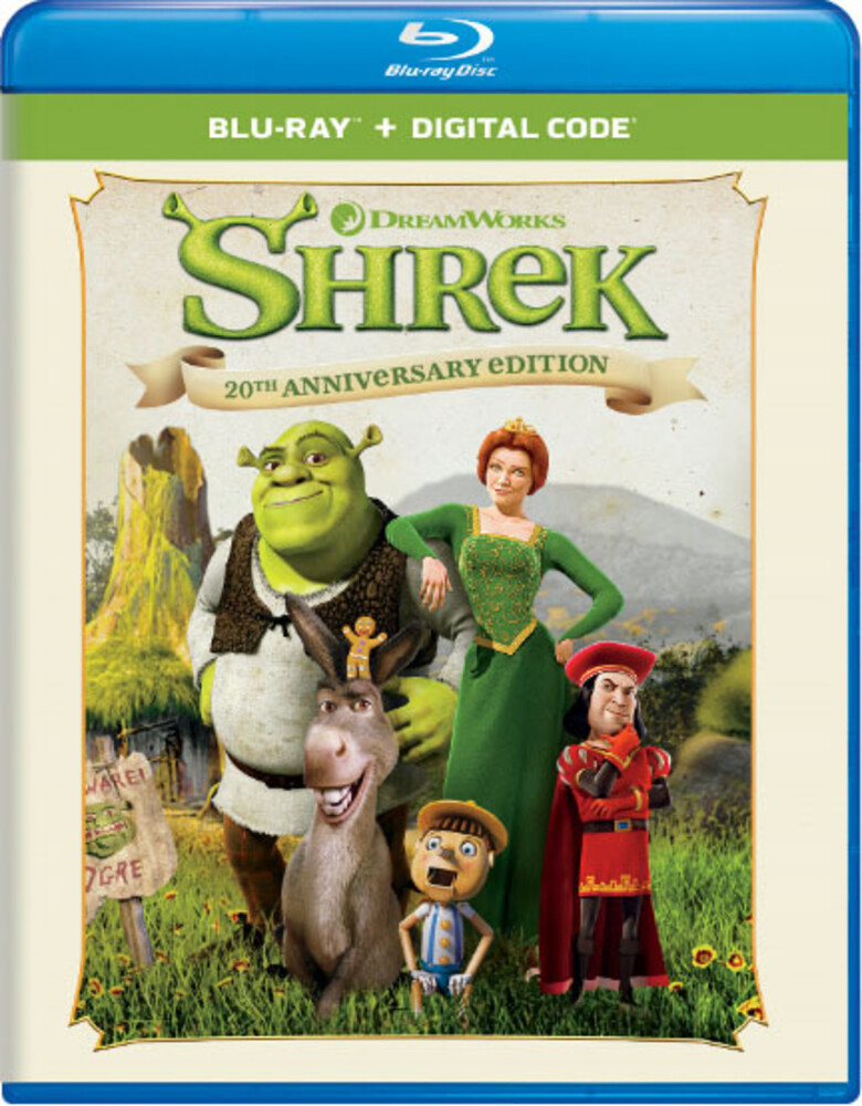 - Shrek: 20th Anniversary Edition (2pc) / (Aniv 2pk)
