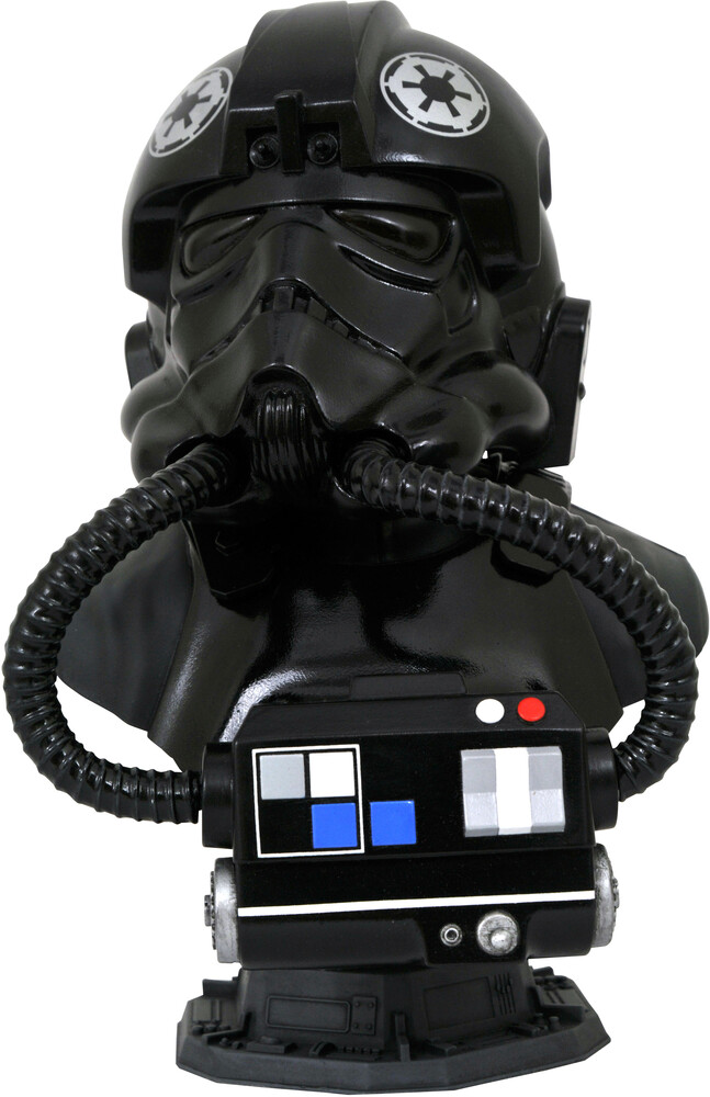 - Star Wars Legends In 3d Tie Pilot 1/2 Scale Bust