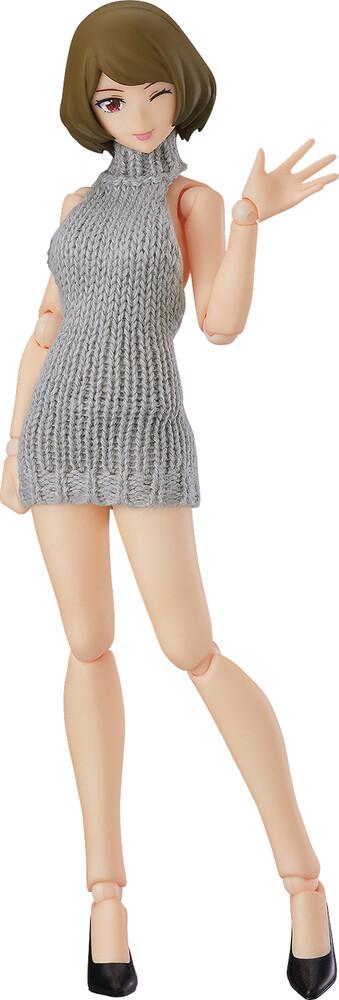 - Chiaki Female Body W/Backless Sweater Figma Af
