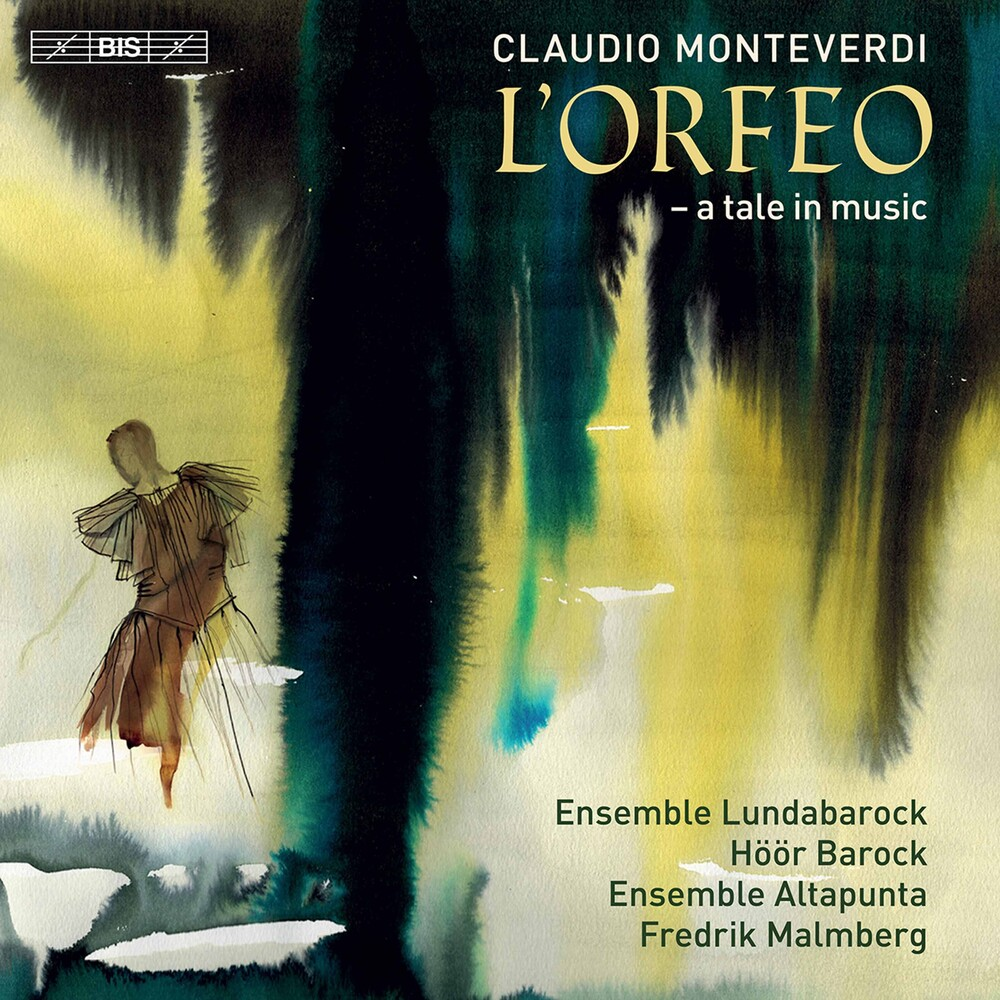 Monteverdi / Linderoth / Malmberg - L'orfeo (Hybr) (2pk)