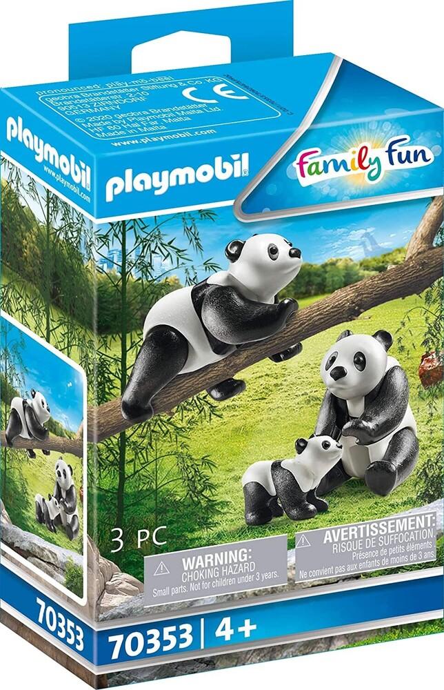 - Family Fun Pandas With Cub (Fig)