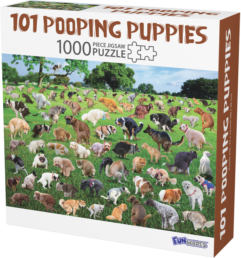 - Funwares 101 Pooping Puppies Puzzle (Puzz)