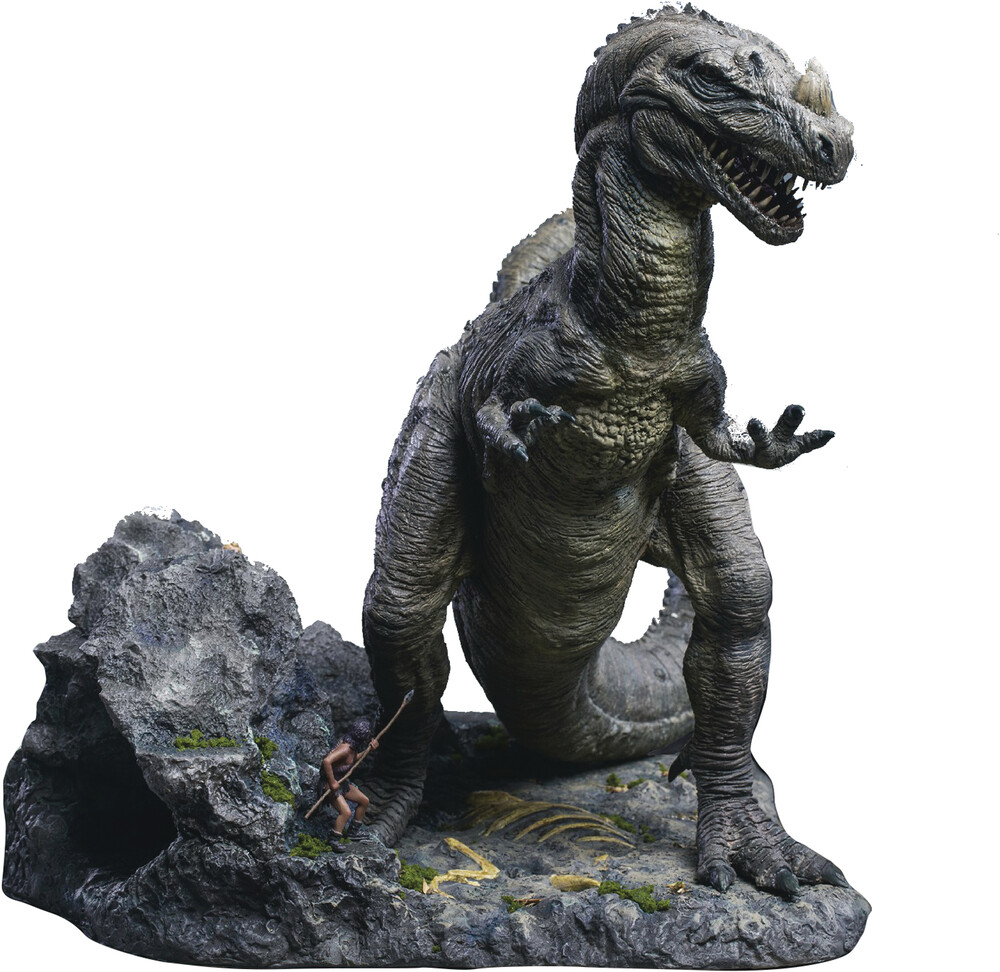 - One Million Years Bc Ceratosaurus Polyresin Statue