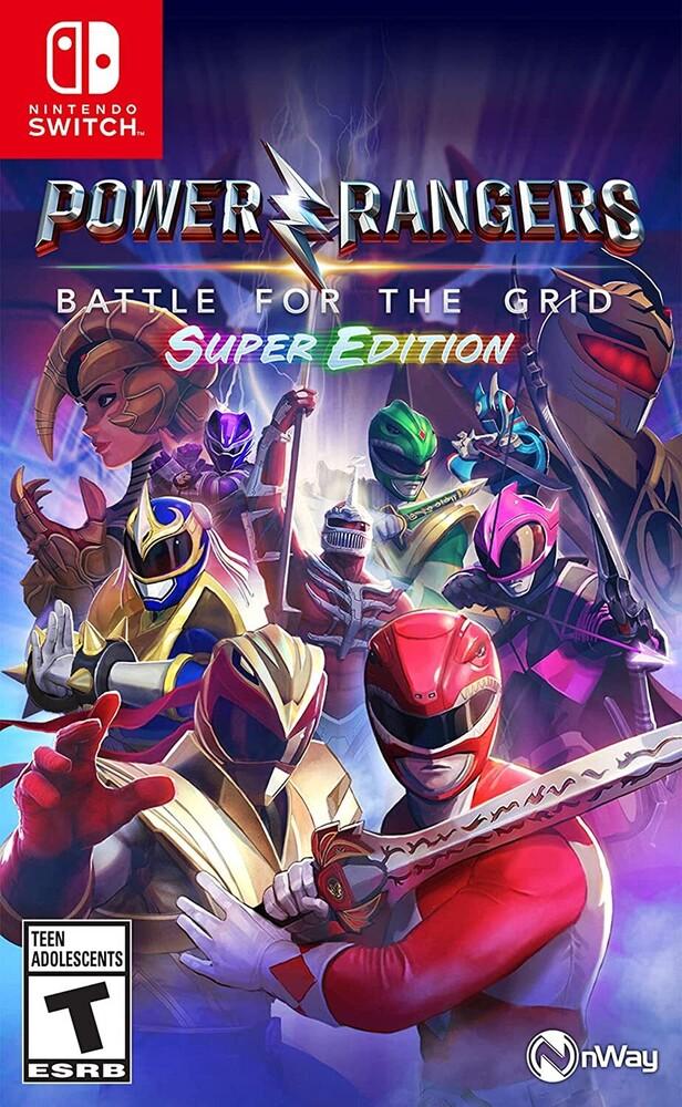 Swi Power Rangers: Battle for Grid - Super Edition - Power Rangers: Battle for the Grid - Super Edition for Nintendo Switch