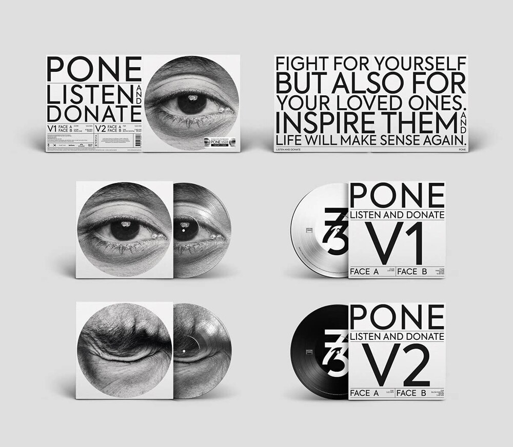 Pone - Listen And Donate (Ep) (Gate) (Ofgv) (Pict)