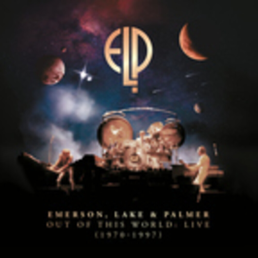 Emerson Lake & Palmer - Out Of This World: Live (1970-1997) (Box) (Phob)