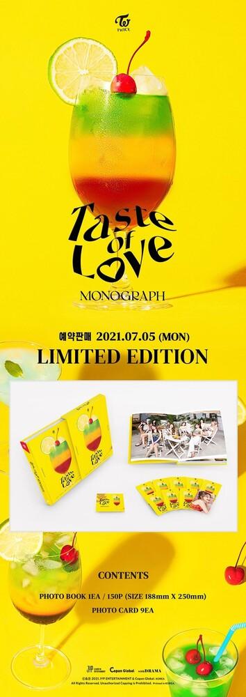 Twice - Monograph Taste Of Love (Phob) (Phot) (Asia)