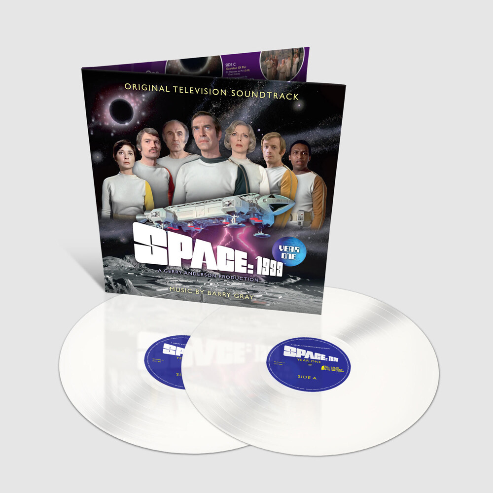 Barry Gray  (Colv) (Wht) (Uk) - Space 1999: Year One / O.S.T. [Colored Vinyl] (Wht) (Uk)