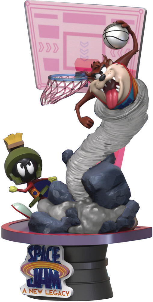 Beast Kingdom - Space Jam New Legacy Ds-070 Taz & Marvin D-Stage 6