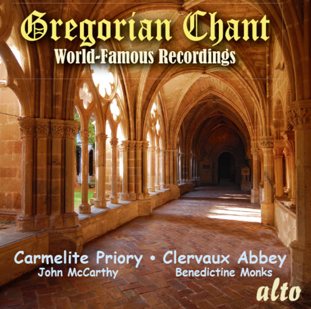Choir Of The Carmelite Priory - Gregorian Chant - World Famous Recordings