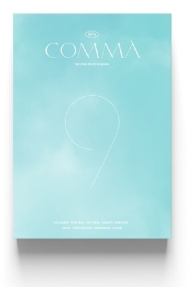 Sf9 - Comma (Second Photo Book) (W/Dvd) (Post) (Phob)