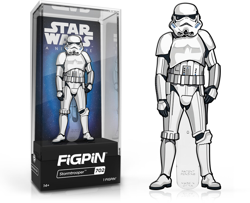 Figpin Star Wars a New Hope Stormtrooper #702 - Figpin Star Wars A New Hope Stormtrooper #702