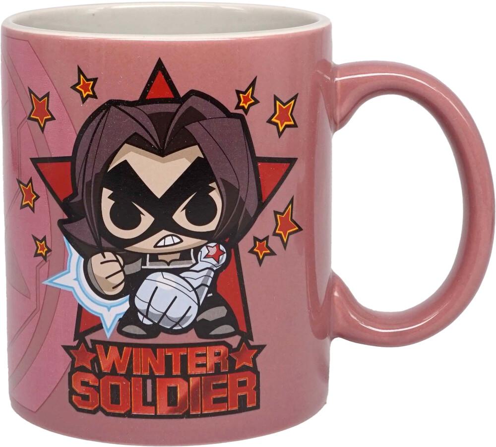 Marvel Mini Heroes Winter Soldier Mug (11 Oz) - Marvel Mini Heroes Winter Soldier Mug (11 Oz)