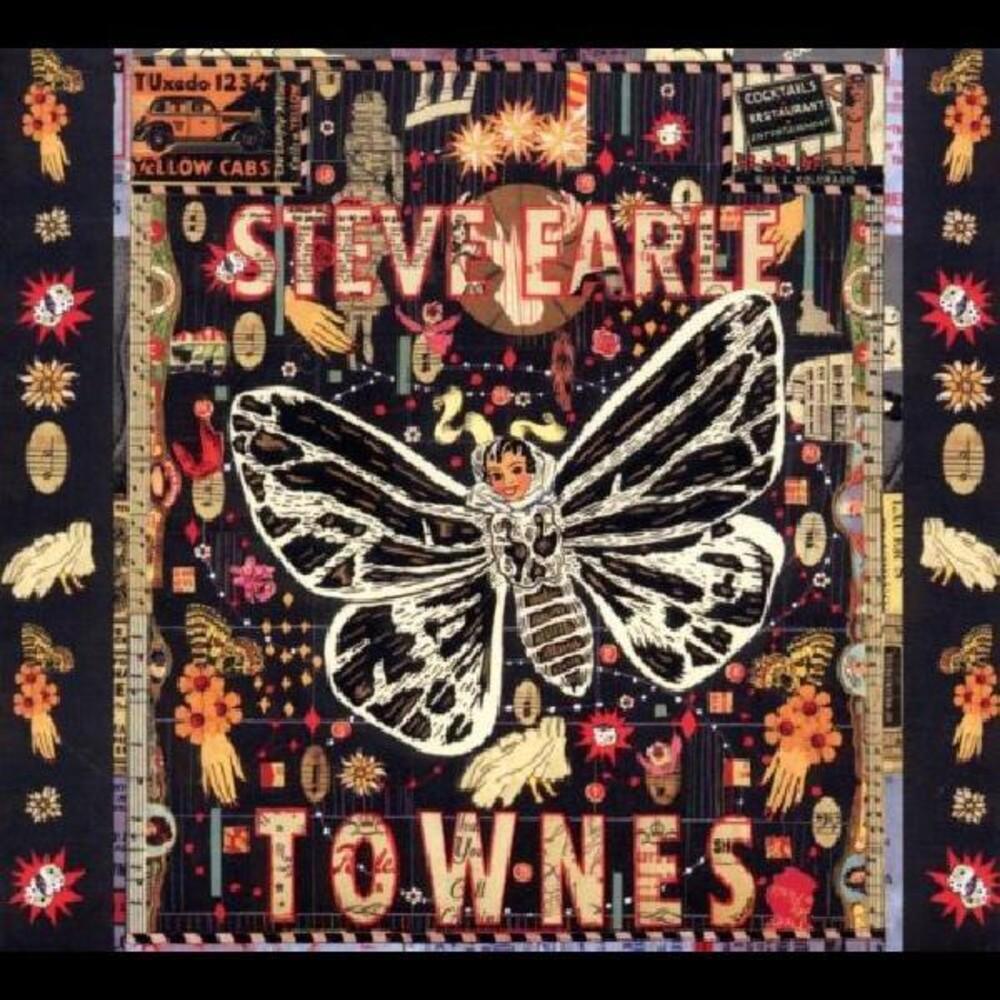 Steve Earle - Townes [Clear Vinyl]