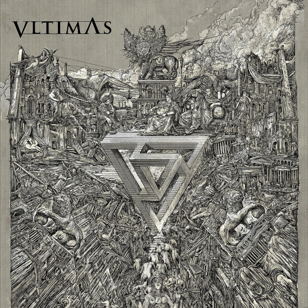 VLTIMAS - Something Wicked Marches In [Limited Edition Transparent Red LP]
