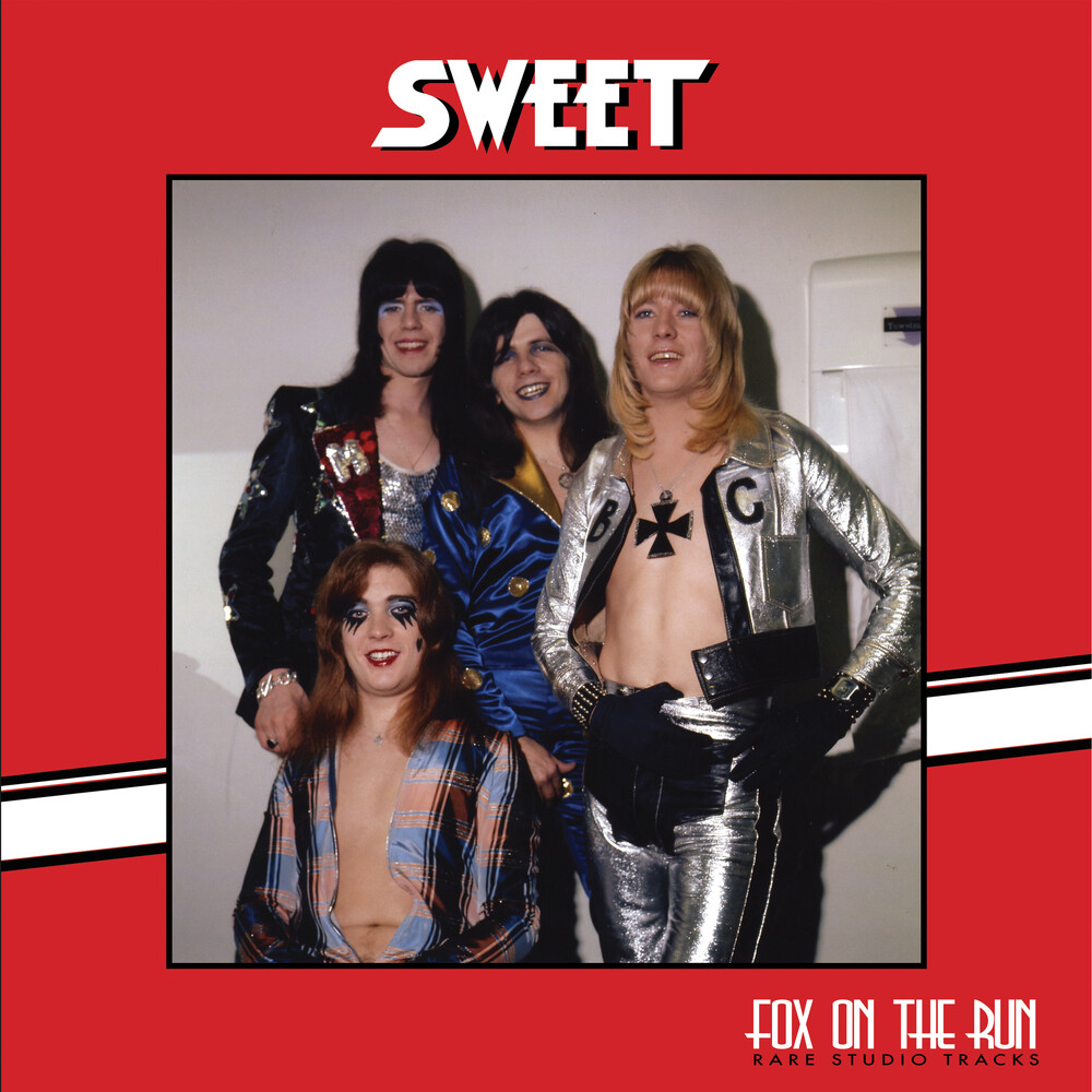 Sweet - Fox On The Run - Rare Studio Tracks [Colored Vinyl] (Red)