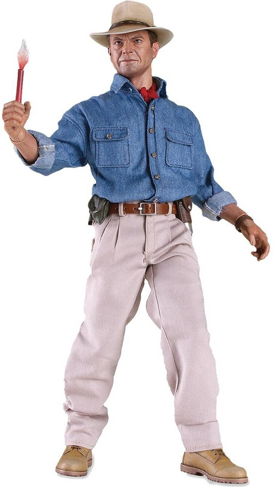 Jurassic Park Dr Alan Grant 1/6 Scale Articulated - Jurassic Park Dr Alan Grant 1/6 Scale Articulated Fig (Net)