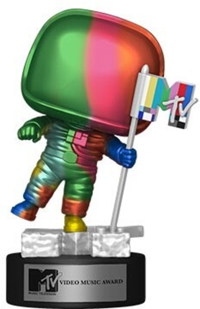 Funko Pop! AD Icons: - FUNKO POP! AD ICONS: MTV- Moon Person (Rainbow) (MT)
