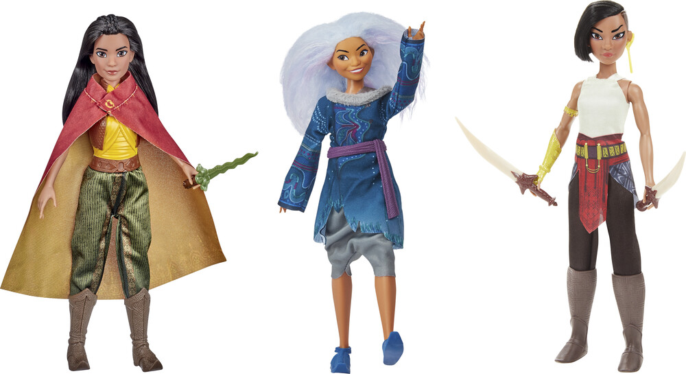 Raya and the Last Dragon - Hasbro - Raya And The Last Dragon: Intro Doll Assortment (DisneyPrincess)