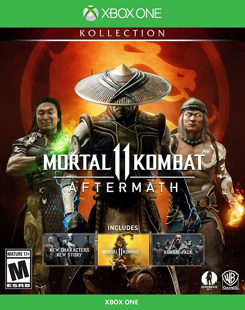 - Mortal Kombat 11: Aftermath Kollection