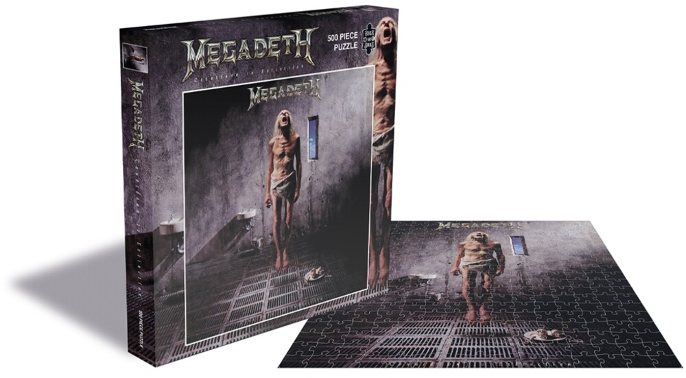 - Megadeth Countdown To Extinction (500 Piece Jigsaw Puzzle)