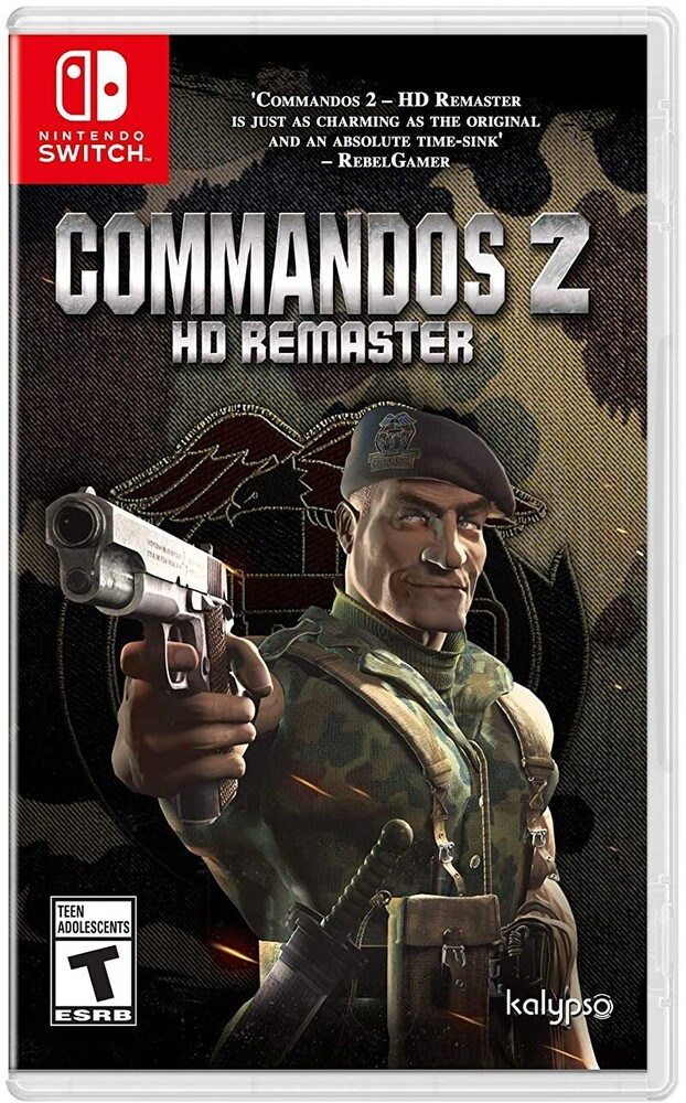 Swi Commandos 2 Hd Remastered - Swi Commandos 2 Hd Remastered [Remastered]