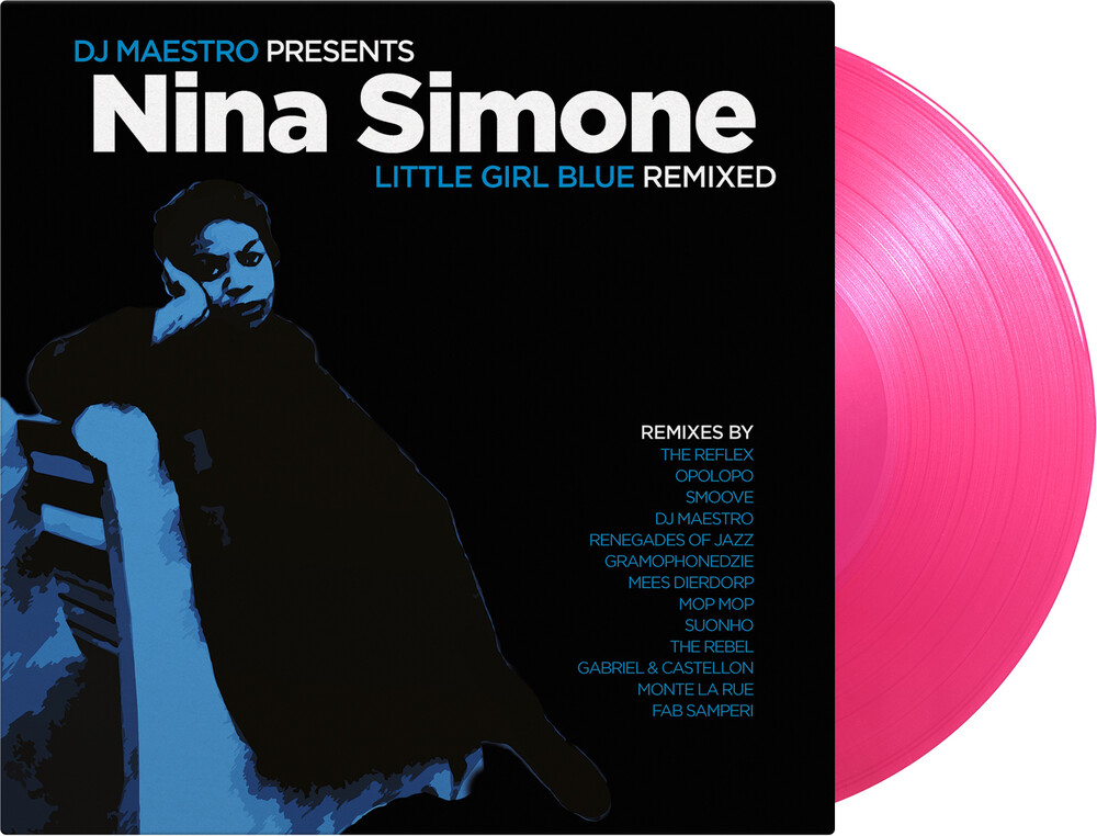 Nina Simone / Dj Maestro - Little Girl Blue: Remixed [Colored Vinyl] [Limited Edition] [180 Gram] (Pnk)
