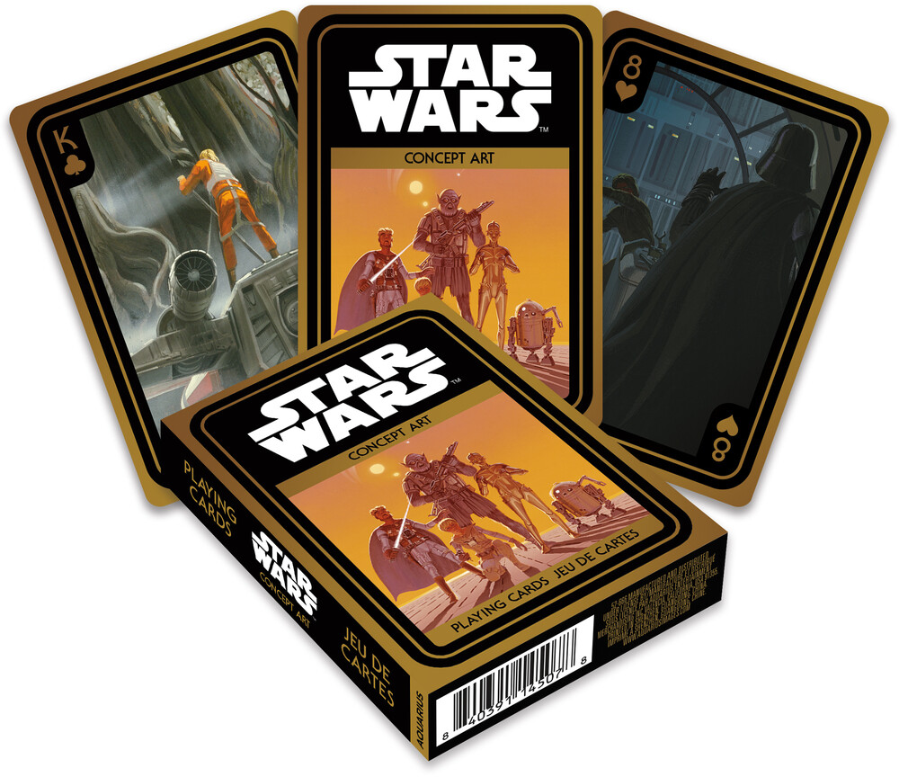 Star Wars Concept Art Playing Cards Deck - Star Wars Concept Art Playing Cards Deck