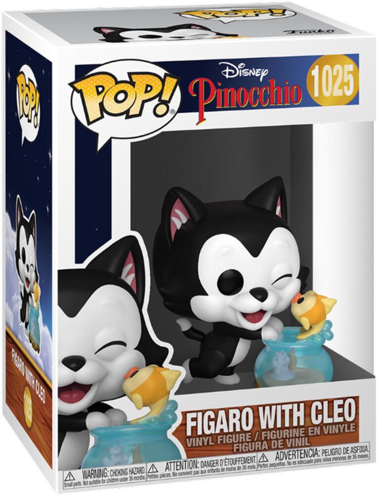 - Pinocchio- Figaro Kissing Cleo