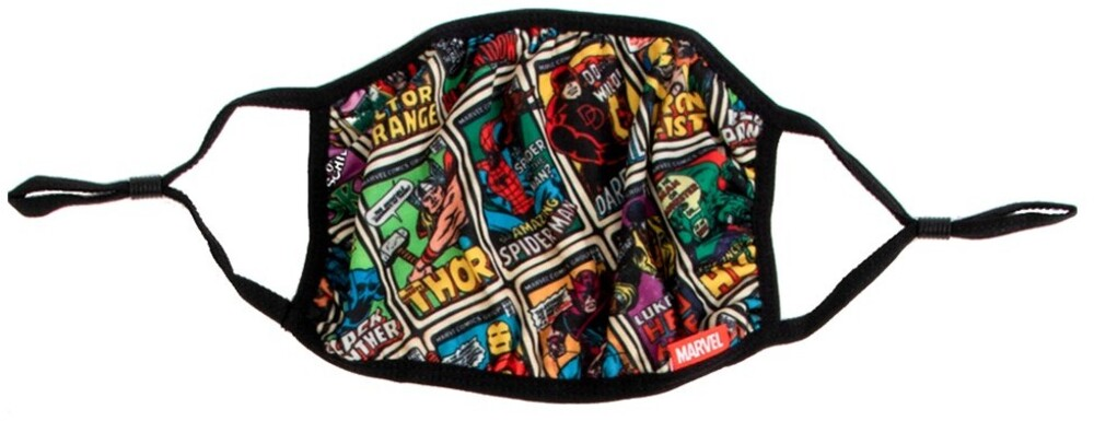 Marvel Comics Adult Size Adjustable Face Cover - Marvel Comics Adult Size Adjustable Face Cover