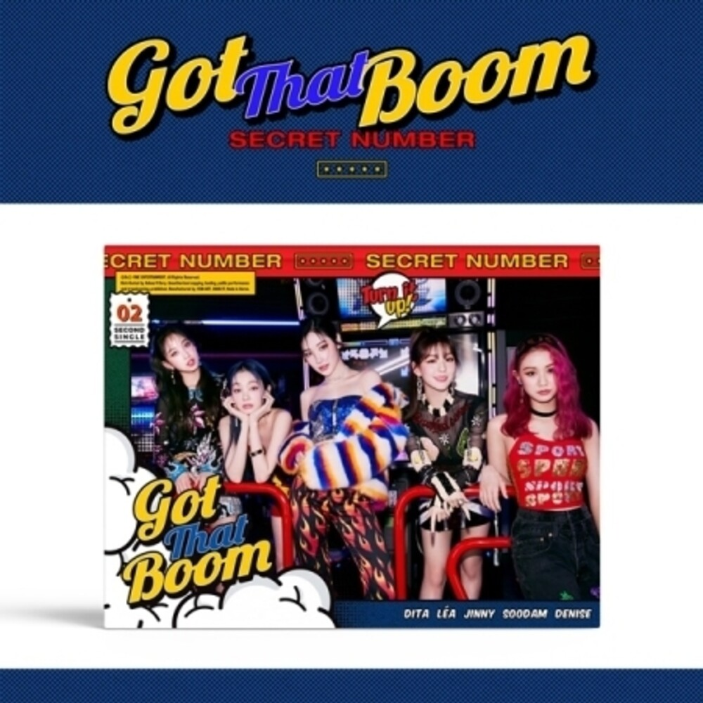 Secret Number - Got That Boom (incl. 64pg Photobook, 2pc Photocard, Postcard, Cartoon Card + Photo Stand)