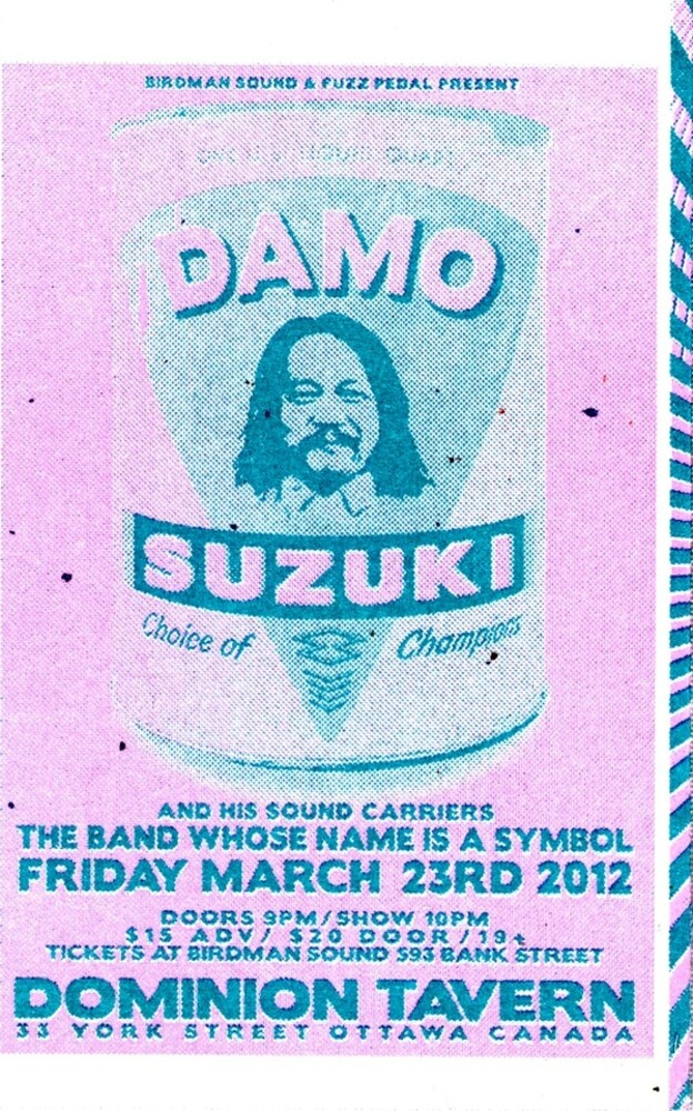 Damo Suzuki & Band Whose Name Is A Symbol - Live 2012