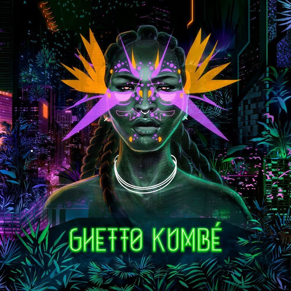 Ghetto Kumbe - Ghetto Kumbe (Neon Orange Vinyl)
