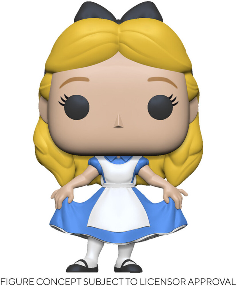 - FUNKO POP! DISNEY: Alice in Wonderland 70th - Alice Curtsying