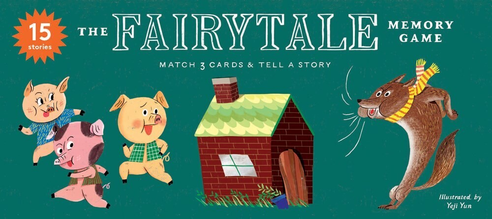 - The Fairytale Memory Game: Match 3 cards & tell a story