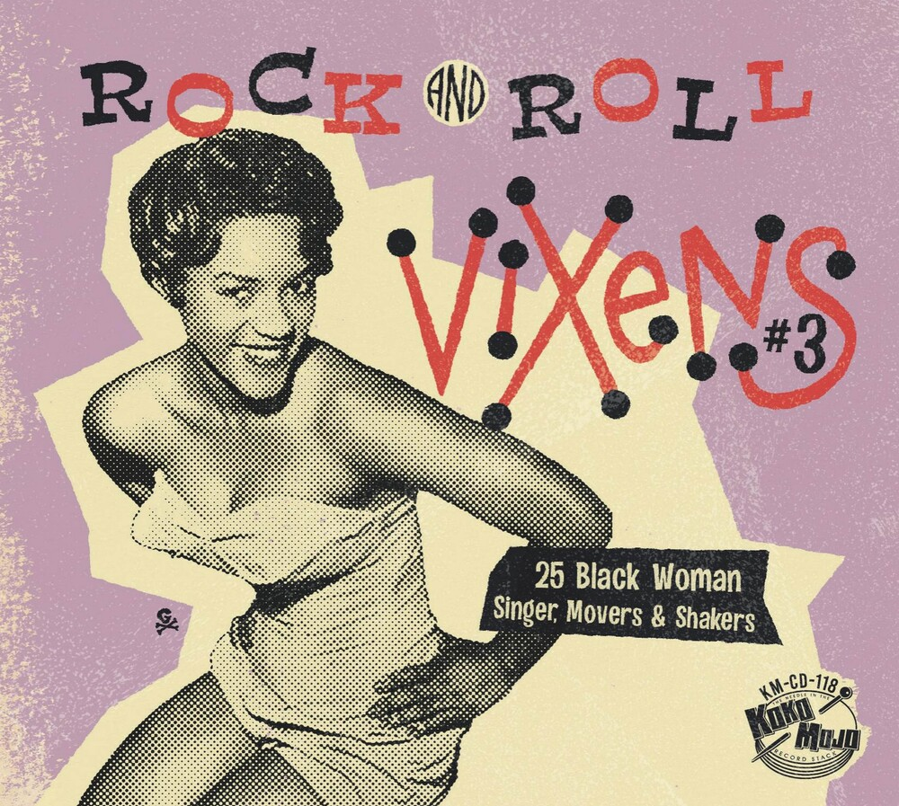 Rock And Roll Vixens 3 / Various - Rock And Roll Vixens 3 (Various Artists)