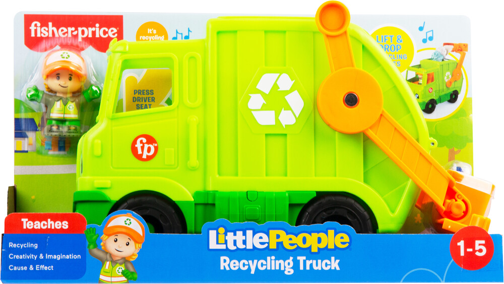 - Fisher Price - Little People Recycling Truck